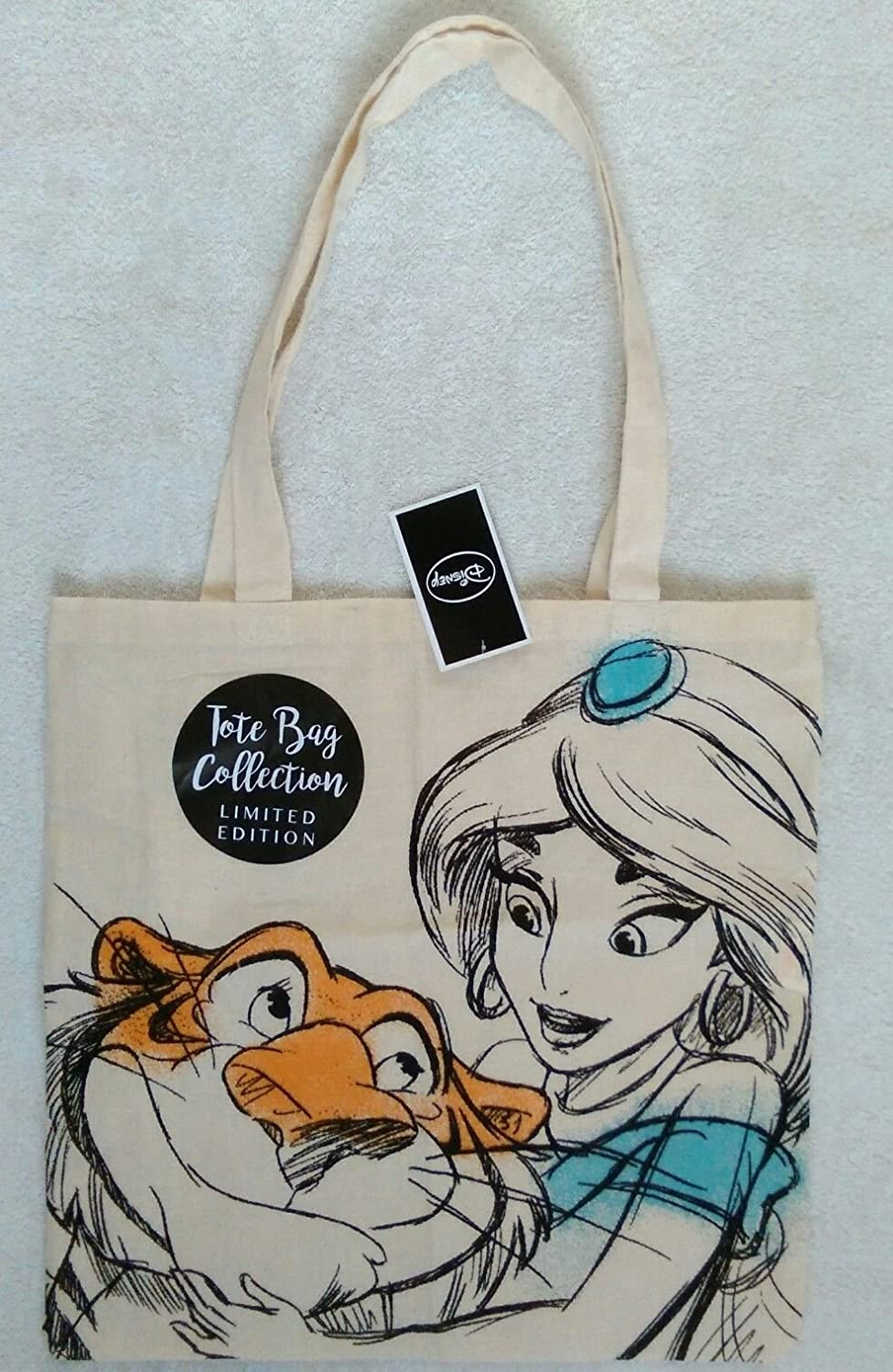 DISNEY Jasmine New Collection CANVAS TOTE BAG LIMITED EDITION