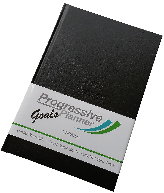 Progressive Goals Planner – CRUSH YOUR GOALS