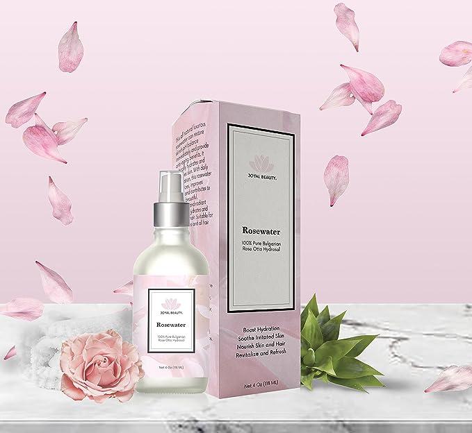 Joyal Beauty 100% Pure Rosewater - Bulgarian Rose Otto Hydrosol Lancome Hydra Zen Anti Stress Moisturizing Rich Cream Dry Skin 50ml