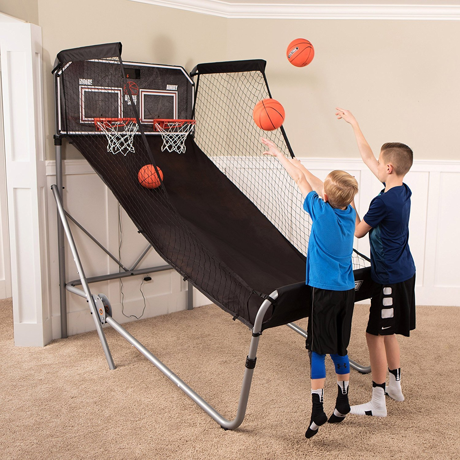 Sportcraft SIR00733 Quick Set-Up Basketball Arcade 8 Game Modes, 2-Players, Setup Less Than 10 Mins, No Tools Required, Heavy Duty 1'' Steel Tube by Sportcraft (Image #10)
