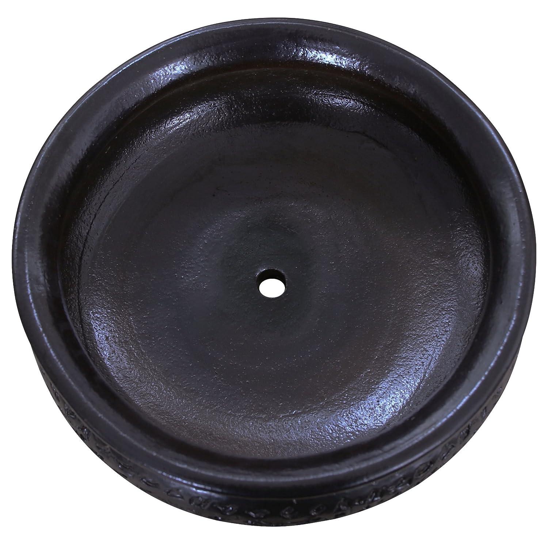 en c/éramique de gr/ès/ 50/x 18/cm /Plusieurs couleurs disponibles marron K/&K Keramik Bonsai Coque//jardini/ères watz Mann XL Plat frostbest/ändig