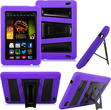 Amazon Com Cellularvilla Tm Combo Case For Amazon Kindle Fire Hd 7 7 Inch 2013 Edition Color Hybrid Armor Kickstand Hard Soft Case Cover With Stand Only Fit 2013 Kindle Fire Hd 7