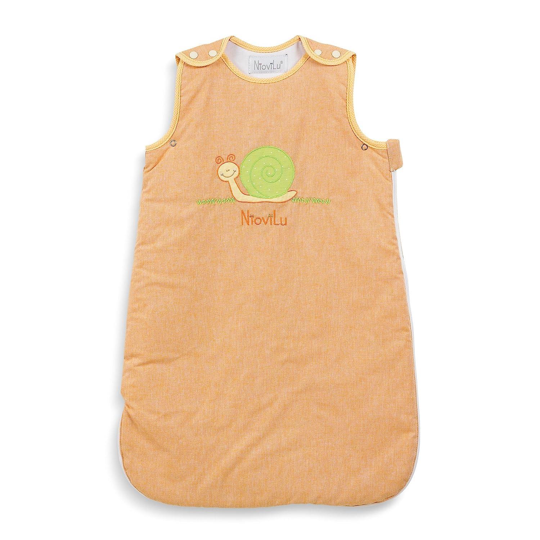 Escargot Rigolo NioviLu Baby Schlafsack 0-6 Monate // 70 cm - 1 Tog