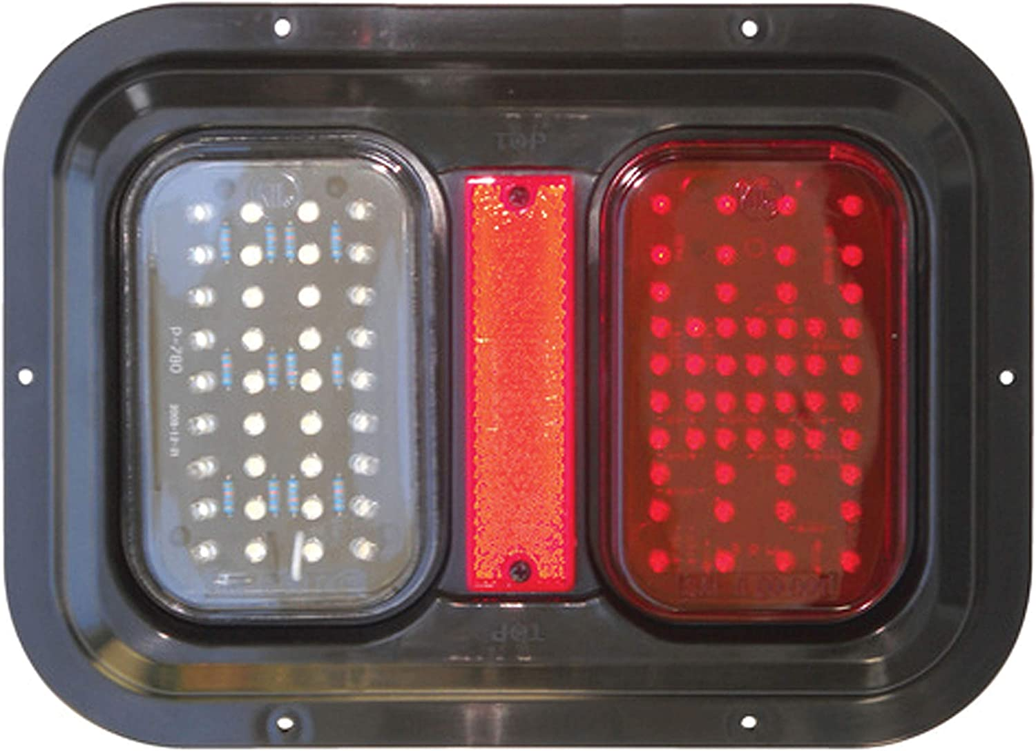 Tail Light Led with Back Up Valterra DG52721PB Pak Manufacturing
