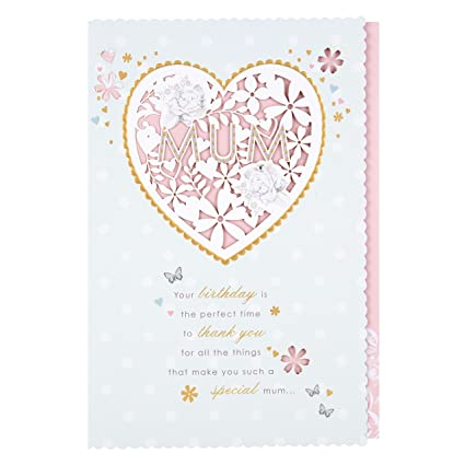 Amazon Hallmark Mum Birthday Luxury Nice Verse Card Perfect