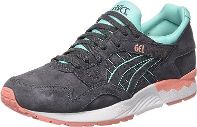 Asics H6R9L - Zapatillas de running mujer, Gris (Dark Grey/Dark Grey), 42.5 EU: Amazon.es: Zapatos y complementos