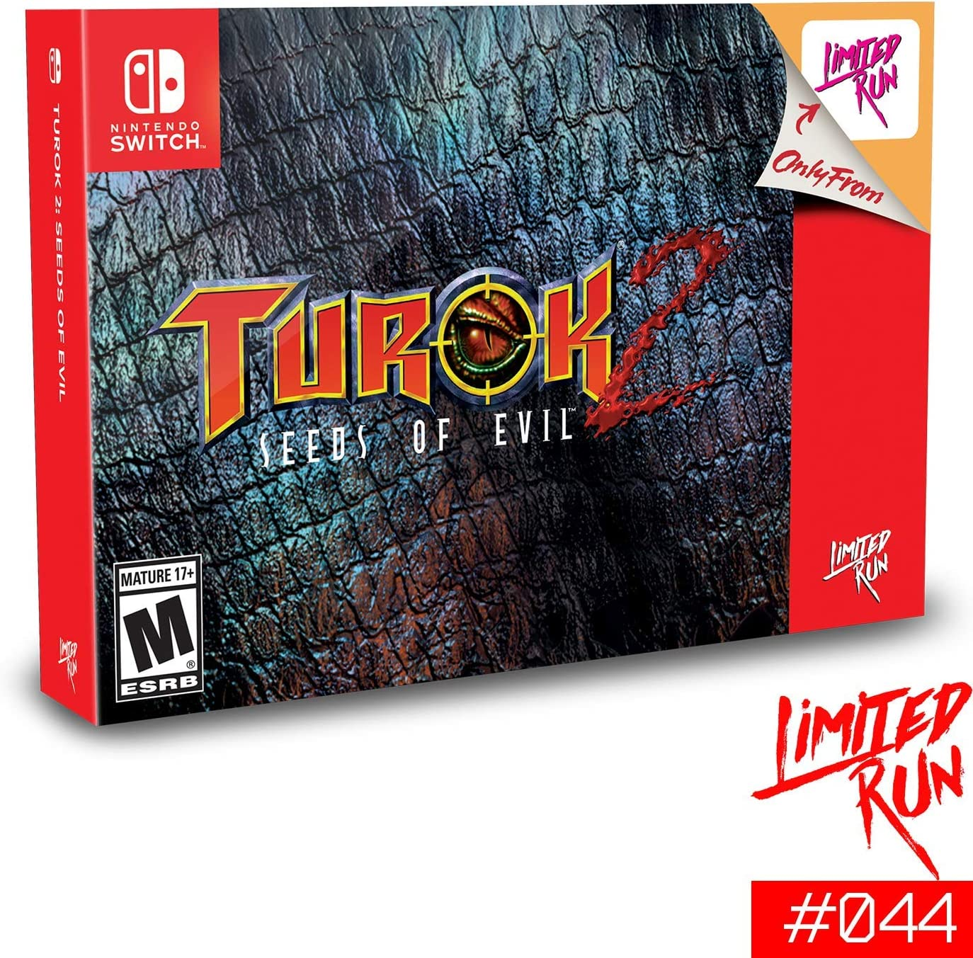 Turok 2 : Seeds of Evil - Classic Collector Edition - Limited Run ...