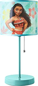 Disney Moana Stick Lamp, Aqua