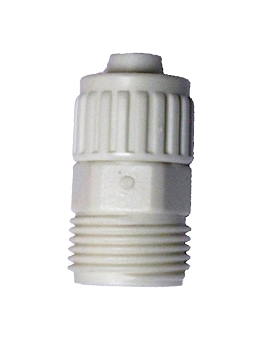 "Flair-It 16867 Plastic Garden Hose Male Adapter, 0.5"" Size"