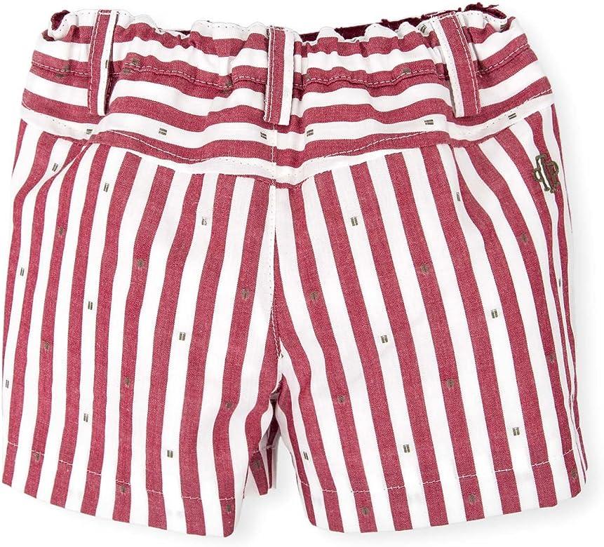 Tutto Piccolo 4310S18 Pantalones, Rojo (Garnet R08), 80 (Tamaño ...