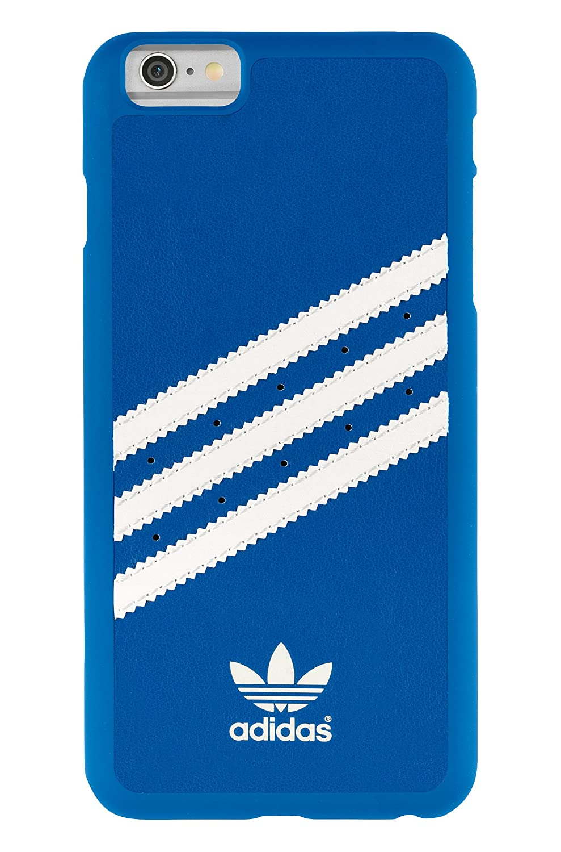 Adidas liberadores camentos de Carcasa para iPhone 6 Plus - BLUEBIRD/blanco