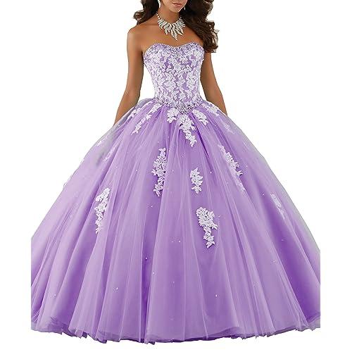 Purple Quinceanera Dress: Amazon.com