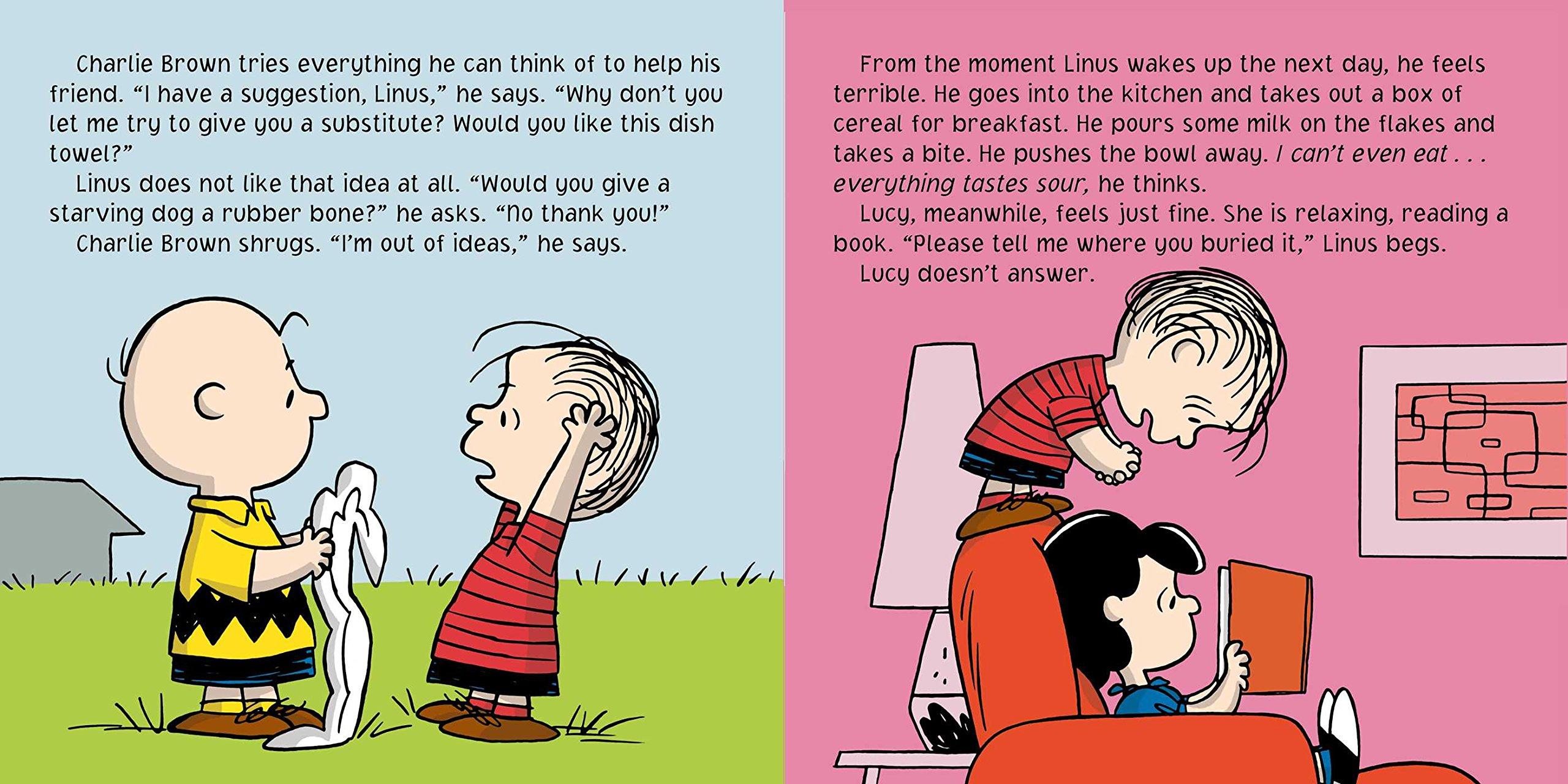 Lose the Blanket Linus Peanuts Tina Gallo Charles M Schulz