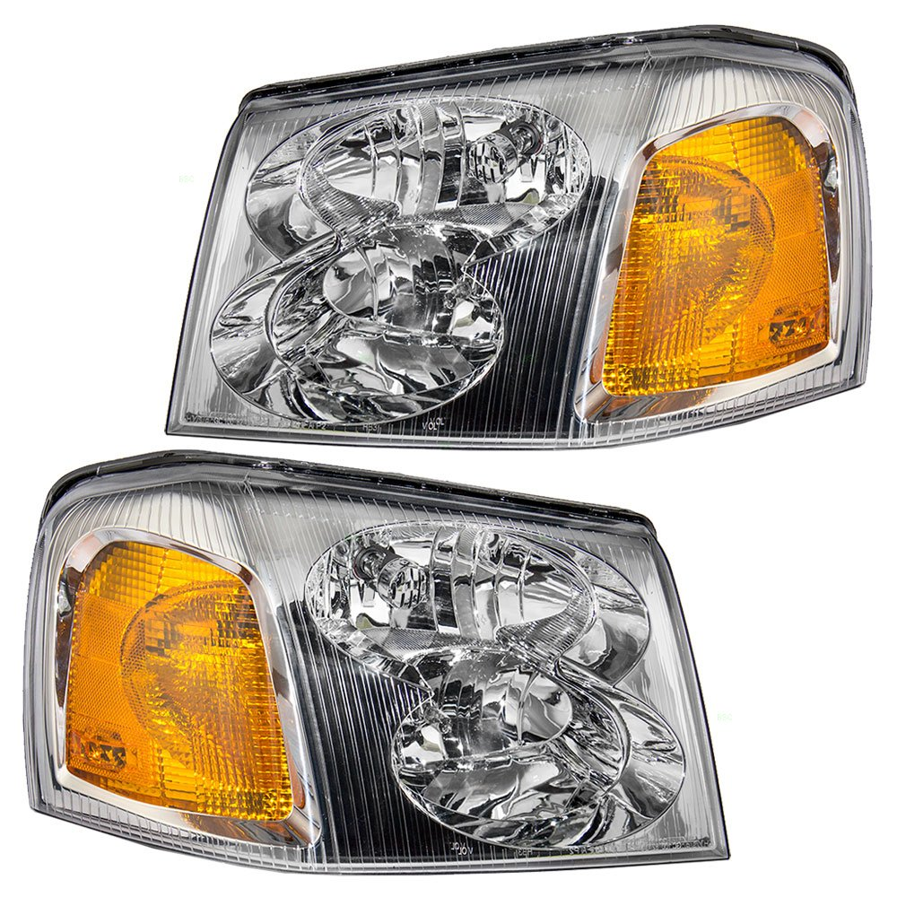 81mLMG0UQkL._SL1000_ amazon com driver and passenger headlights headlamps replacement