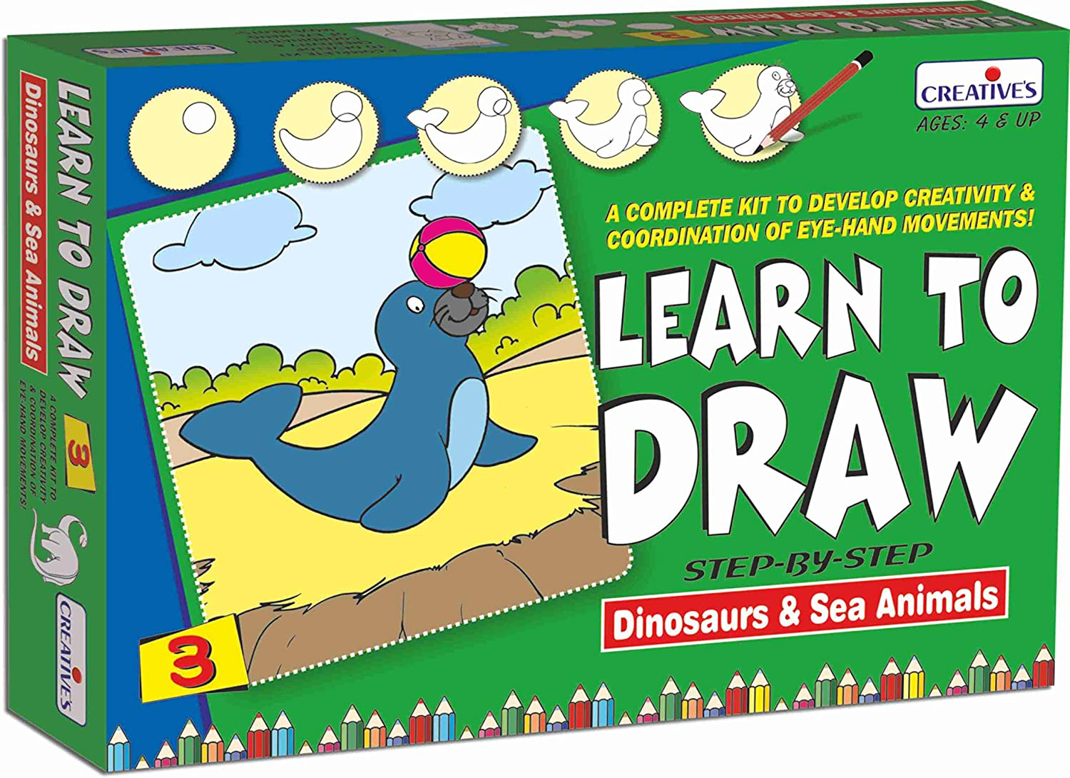 Learn to Draw恐竜&海動物ゲーム