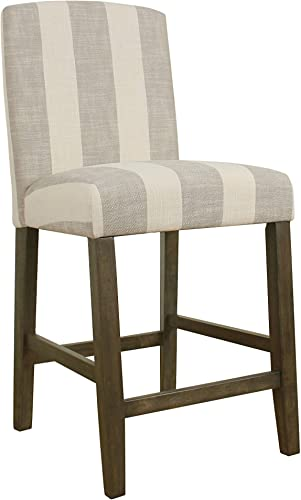 HomePop Curved Top Barstool