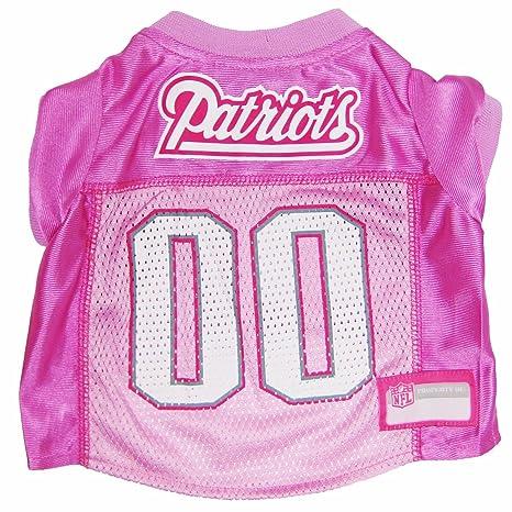 Amazon.com   NFL New England Patriots Dog Jersey Pink 96701b56f
