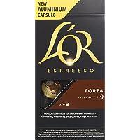 L'OR Espresso caffè  - Capsule in Alluminio compatibili con macchine Nespresso® - Confezione da 50 capsule - Forza (Intensità 9)