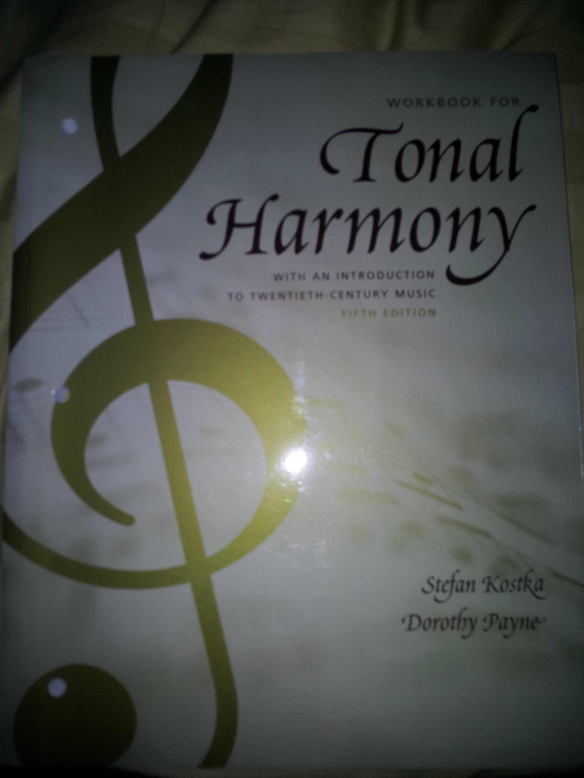 Tonal harmony with an introduction to twentieth century music tonal harmony with an introduction to twentieth century music stefan kostka dorothy payne 9780072852608 amazon books fandeluxe Choice Image