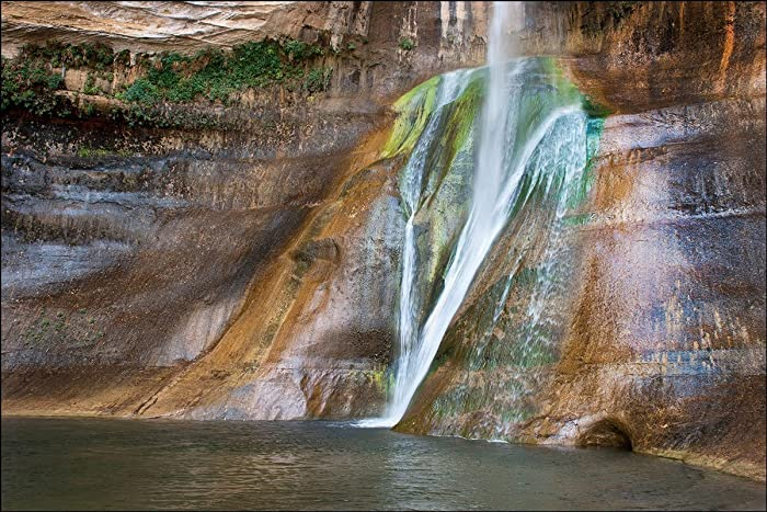 Amazon.com: Home décor photograph of Lower Calf Creek Falls ...