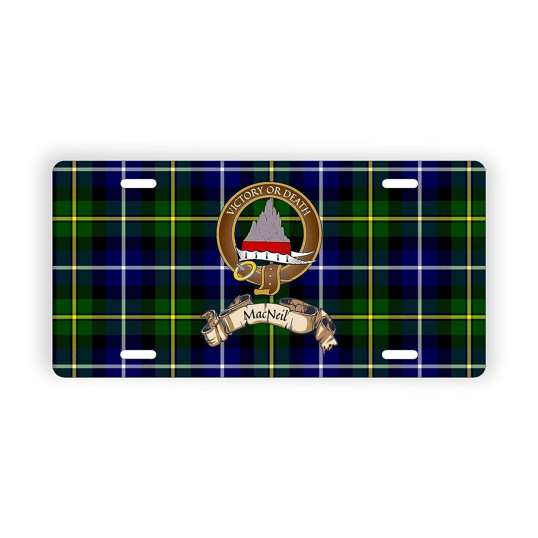 Scotland Clan MacNeil Novelty Auto Plate