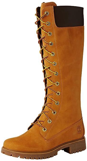 bottes hautes timberland femme