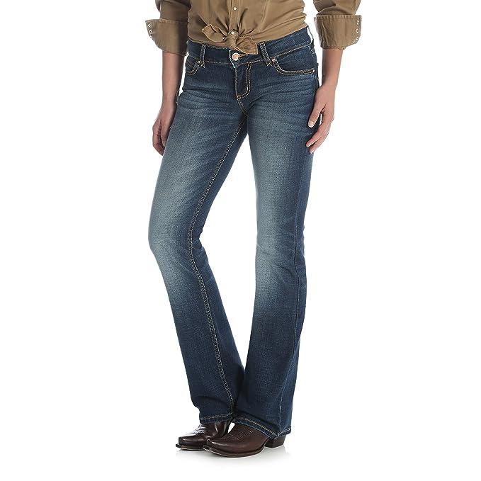 08f897cebc Wrangler Womens Retro Mid Rise Boot Cut Jean Jeans  Amazon.ca  Clothing    Accessories