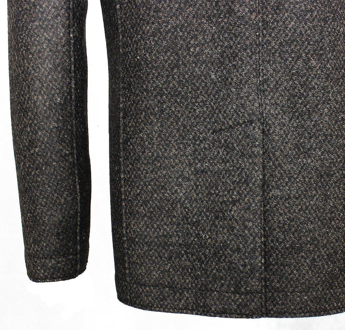 Bugatti Herren Jacke mit Fischgrät Struktur aus hochwertigem