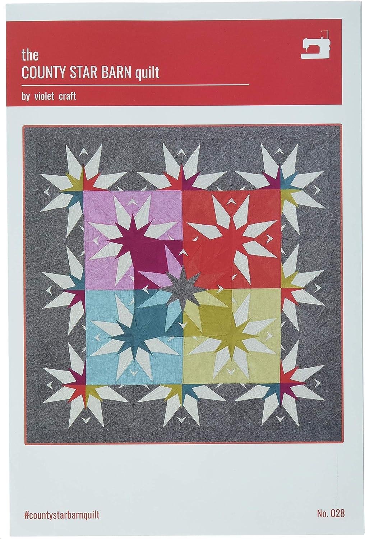 Violet Craft The Atomic Sunburst Quilt Pattern
