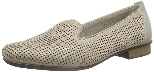 Rieker51977 Women Loafers - Mocasines Mujer, Color Gris, Talla 36: Amazon.es: Zapatos y complementos