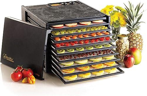 Excalibur 9-Tray Electric Food Temperature Settings
