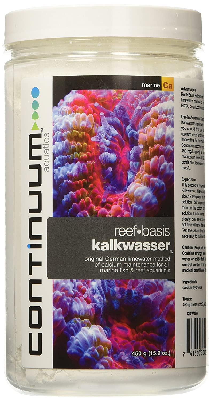 CONTINUUM AQUATICS ACO30402 Reef Basis Kalkwasser per Acquario, 450 GM GM GM de0784
