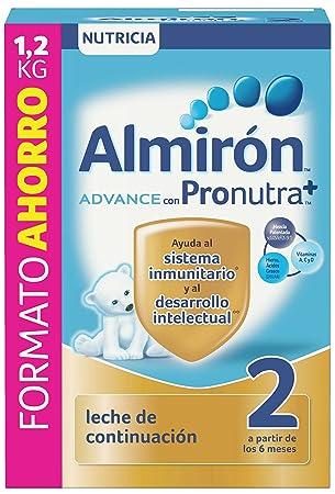 Almirón Advance con Pronutra 2 Leche de continuación en polvo desde los 6 meses 1,2 kg: Amazon.es: Amazon Pantry