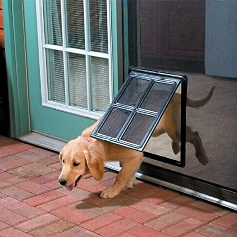 Amazon Kl Pet Pet Screen Door Dog Door For Screen Door 12
