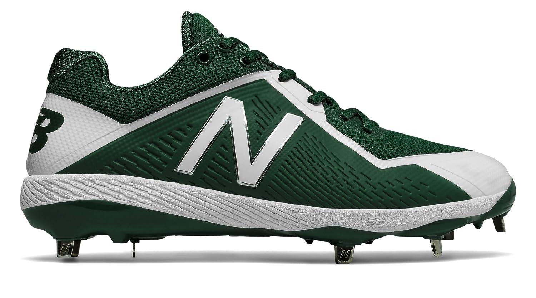 (ニューバランス) New Balance 靴シューズ メンズ野球 4040v4 Green with White グリーン ホワイト US 15 (33cm) B074Z2Y2T3