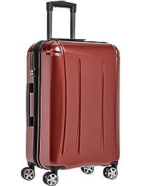 AmazonBasics Oxford Luggage Expandable Suitcase Spinner with TSA Lock