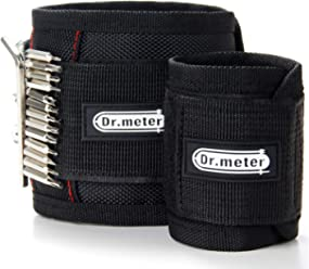 Magnetic Wristband, Dr.meter 2 Sizes of 10.6 & 18.9 Inches Length Magnetic Wrist