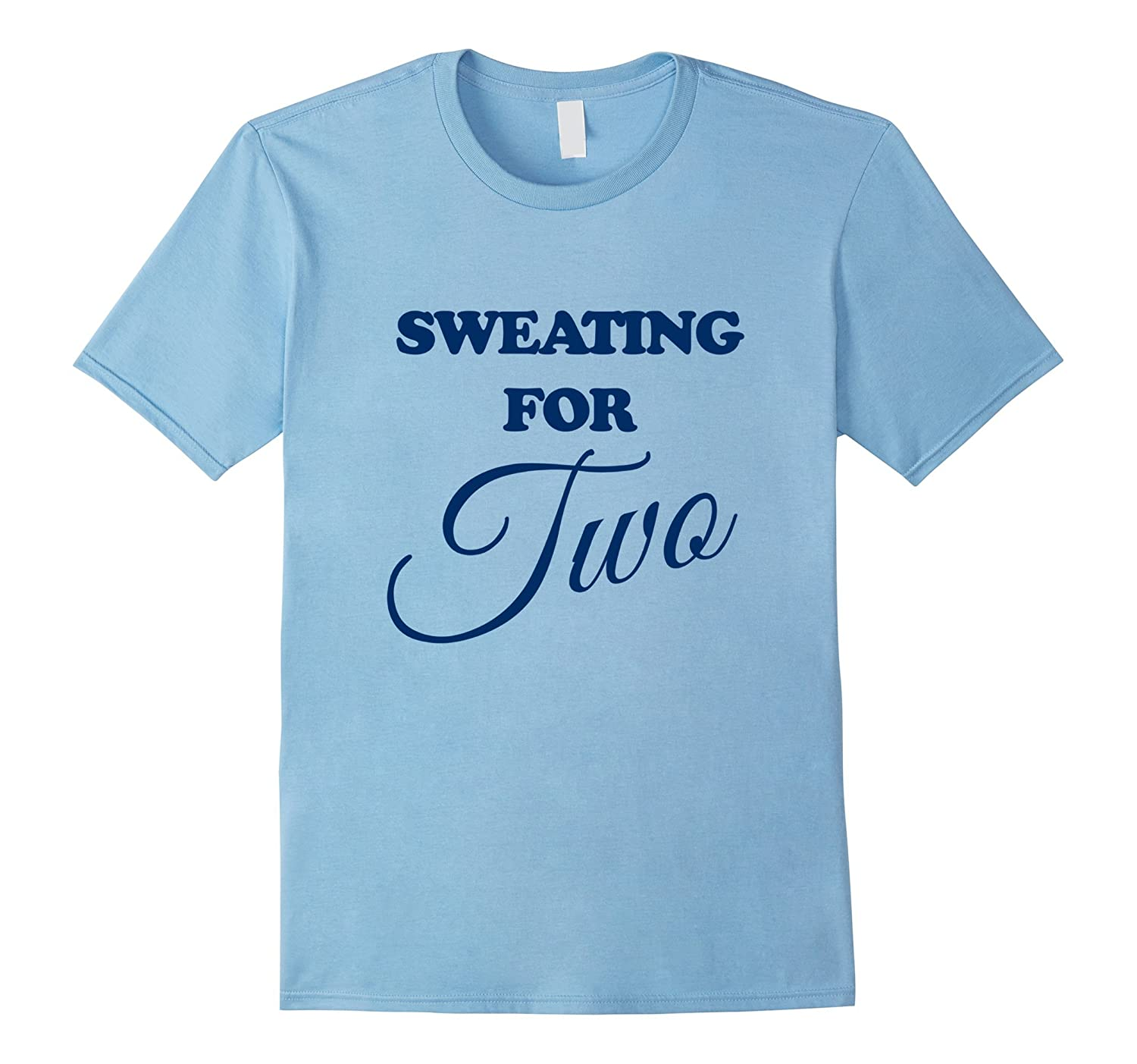 Sweating for Two Maternity T Shirt Tank-Art