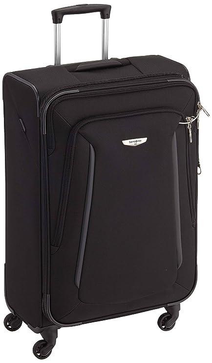 ced674c2f Samsonite Suitcase, 72 cm, 87 Liters, Black: Amazon.co.uk: Luggage