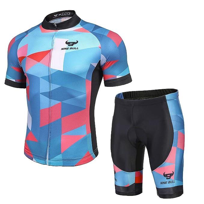 Amazon.com: Nine Bull - Juego de camiseta de ciclismo para ...
