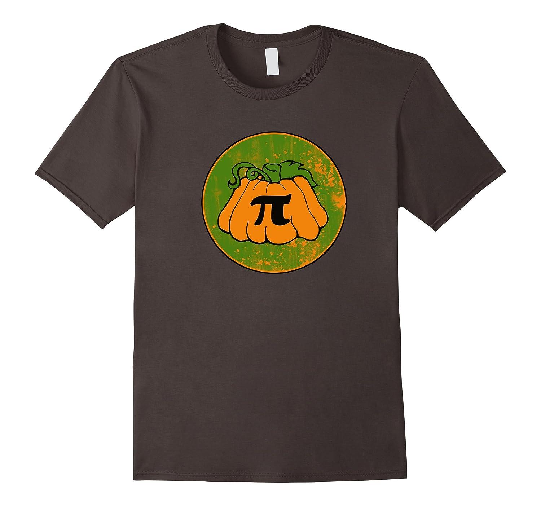 Pumpkin Pie shirt retro style pumpkin pi day humor-CD