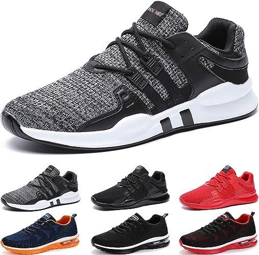 Sportschuhe Atmungsaktiv Laufschuhe Leicht Sneaker Herren Turnschuhe Freizeit