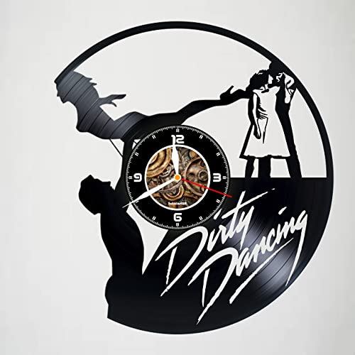 Amazon Com Dirty Dancing Handmade Vinyl Wall Clock Gift Idea