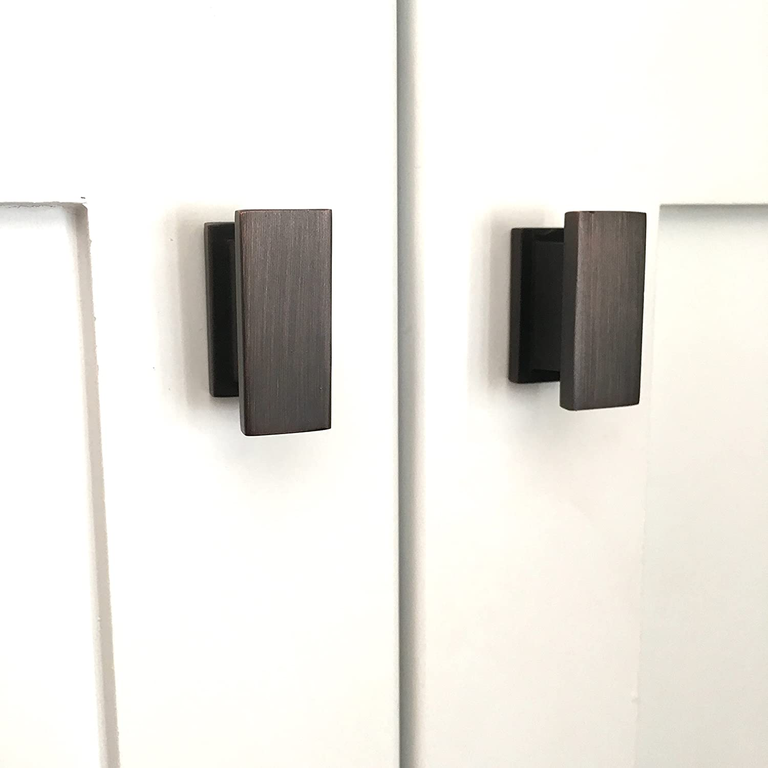 oil kitchen pulls bronze cabinet rubbed pack inch bar of black