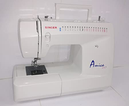 Singer Decorative-Máquina de coser, Amica 20-mod.3820: Amazon.es ...