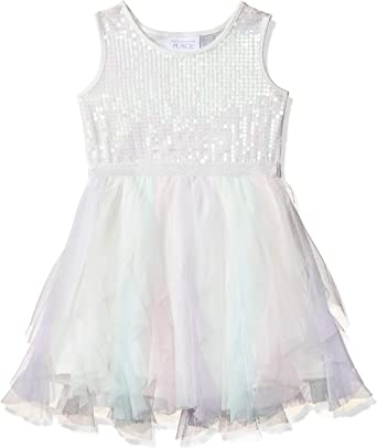 The Childrens Place Baby Girls Special Occasion Printed Dress