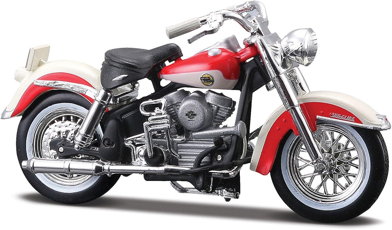 1958 Harley Davidson FLH Duo Glide1:24 Maisto