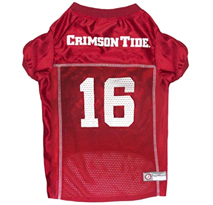 cheaper eb3cd 27392 Pets First NCAA ALABAMA CRIMSON TIDE Pet Jersey. - College Pet Jersey. -  Football Dog Jersey. - Alabama Crimson Tide Dog Jersey. 6 Sizes available.  - ...