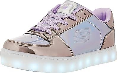 Virgen Posicionar Problema  Skechers Energy Lights-Shiny Sneaks, Zapatillas para Niñas: Amazon.es:  Zapatos y complementos