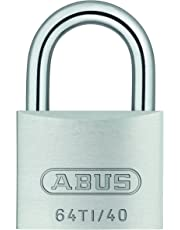 ABUS 64TI/40 Outdoor Titalium Key Padlock